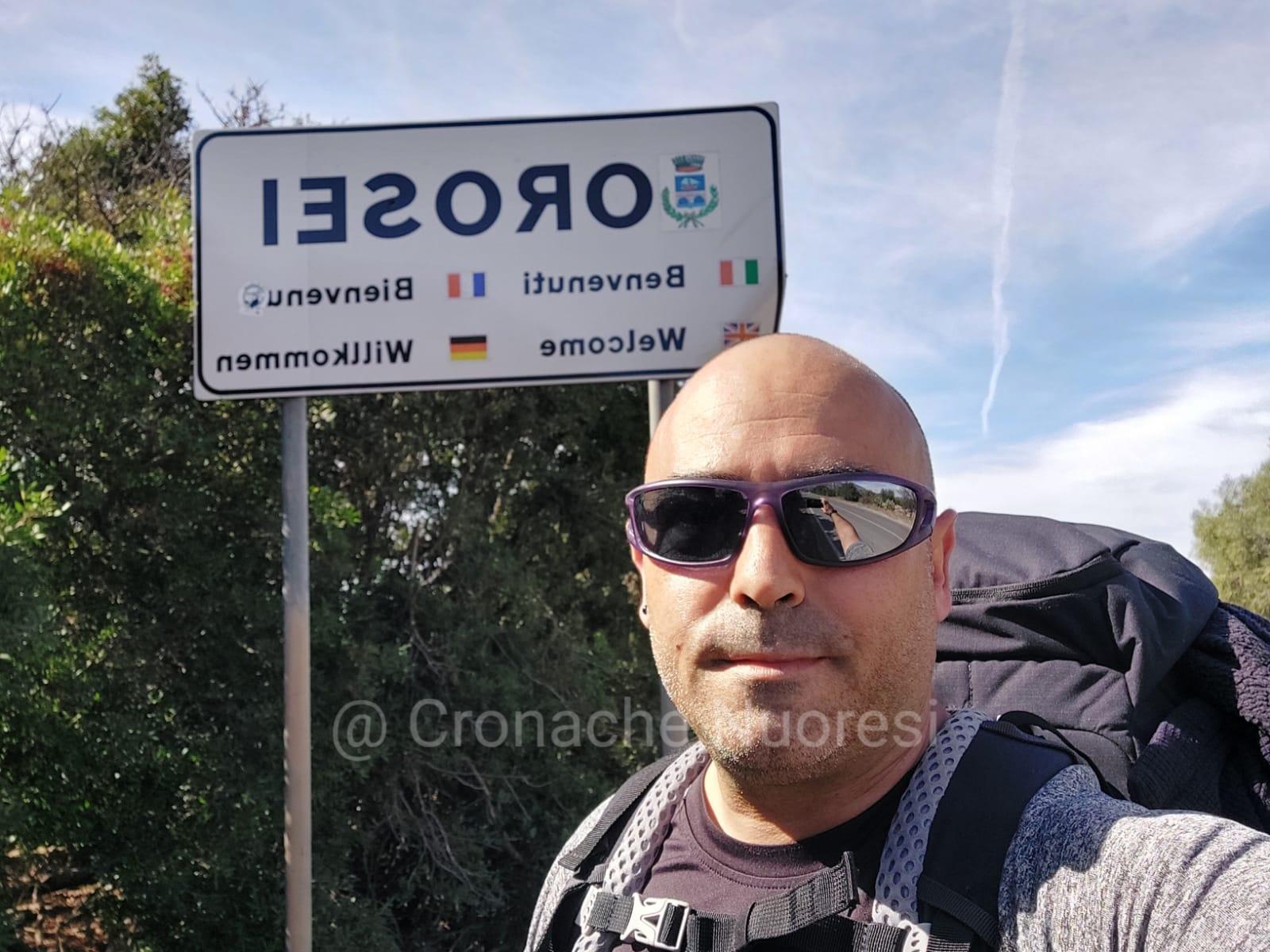 700mila passi da Nuoro a Milano: oggi terza tappa a Orosei