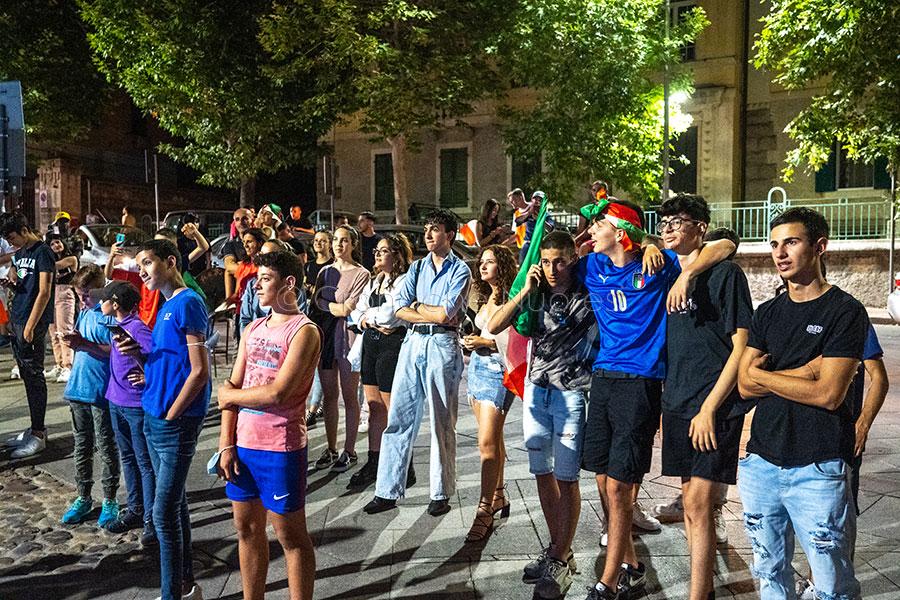 L'Italia vince gli Europei 2020 (foto S.Novellu)